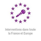 intervention en France et en Europe