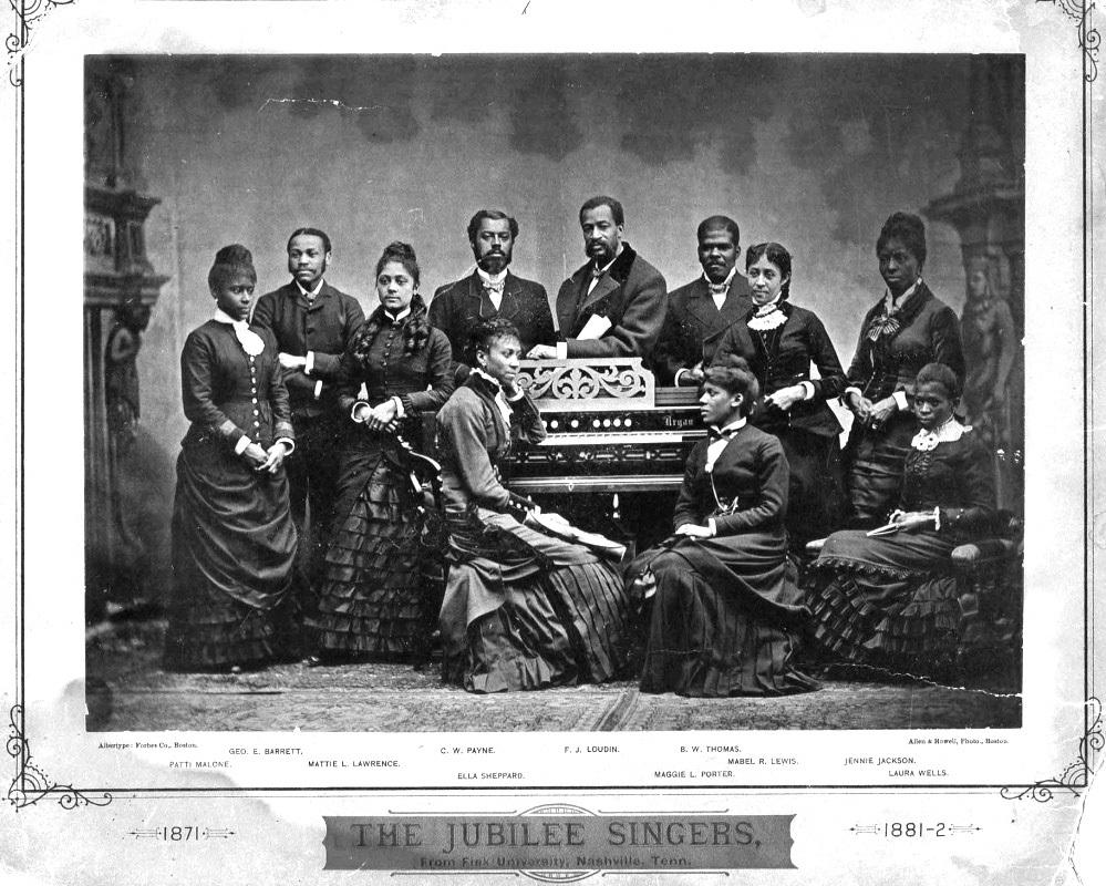 the jubilee singers