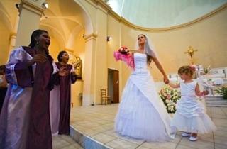 mariage gospel église