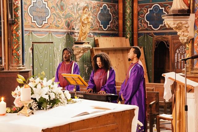 Mariage Gospel à Dabisse