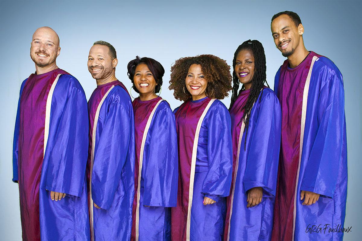 Groupe de Gospel Chorale d'actualité en sortie covid19